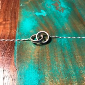 Tiffany & Co Interlocking Circles Necklace